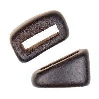 Clay River Porcelain Tri-Slider Flat 10mm - Matte Black