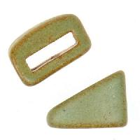 Clay River Porcelain Tri-Slider Flat 10mm - Patina Green