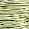 1.5mm Round Indian Leather Cord - Metallic Shell