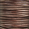 1.5mm Round Indian Leather Cord - Metallic Tamba