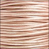 1.5mm Round Indian Leather Cord - Metallic Suraiya - per yard