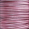 1.5mm Round Indian Leather Cord - Metallic Fruit Punch - per yard