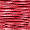 1.5mm Round Indian Leather Cord - Natural Cerise