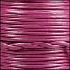 1.5mm Round Indian Leather Cord - Mulberry