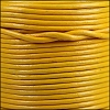 1.5mm Round Indian Leather Cord - Fire - per yard