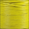 1mm Round Indian Leather Cord - Lime Yellow - per yard