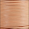 1.5mm Round Indian Leather Cord - Blush - per yard