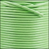 1mm Round Indian Leather Cord - Fern Green - per yard