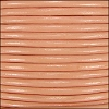 1.5mm Round Indian Leather Cord - Peach - per yard
