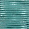 1mm Round Indian Leather Cord - Light Turquoise - per yard