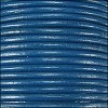 1.5mm Round Indian Leather Cord - Dark Blue - per yard