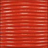 1.5mm Round Indian Leather Cord - Burnt Orange - per yard