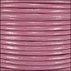 1mm Round Indian Leather Cord - Dusty Pink - per yard
