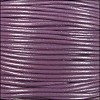 1mm Round Indian Leather Cord - Violet - per yard