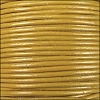 1.5mm Round Indian Leather Cord - Yellow - per yard