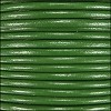 1.5mm Round Indian Leather Cord - Kelly Green - per yard