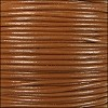 1.5mm Round Indian Leather Cord - Caramel