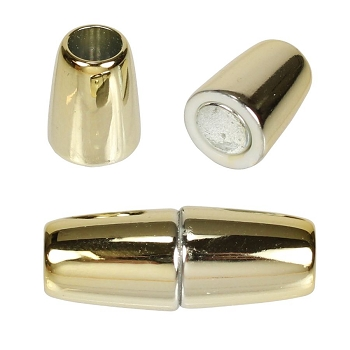 5mm round Acrylic magnet GOLD