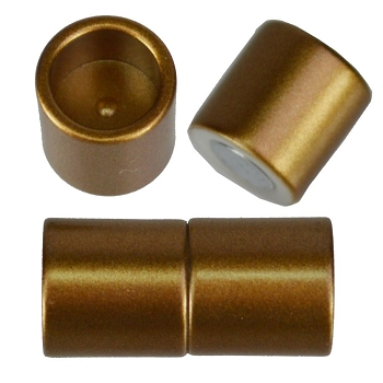 10mm round Acrylic magnet CYL MATTE BRONZE
