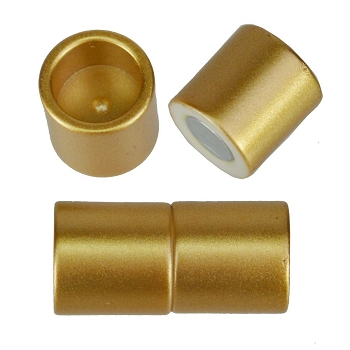 10mm round Acrylic magnet CYL MATTE GOLD