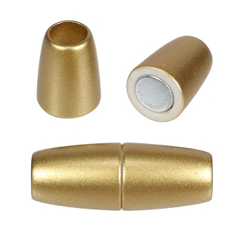 5mm round Acrylic magnet MATTE GOLD