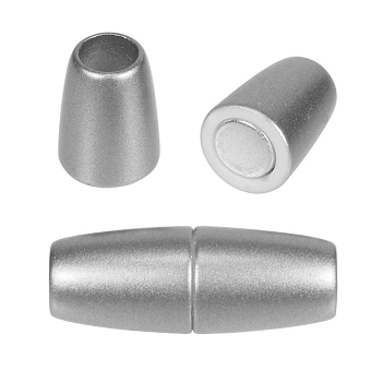 5mm round Acrylic magnet MATTE SILVER