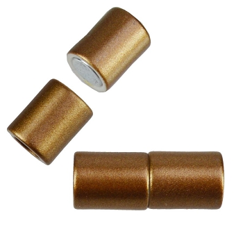 5mm round Acrylic magnet CYL BRONZE
