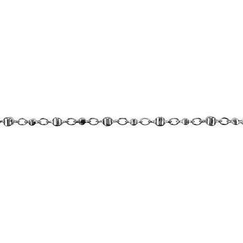 Moroccan Chain - Rhodium