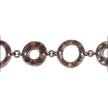 Donut chain ANT COPPER - per foot