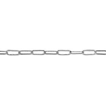 Thin Cable Chain - Rhodium