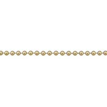 Ball Chain 3.2mm - Matte Gold