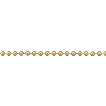 Ball Chain 4.5mm - Matte Gold
