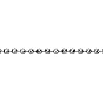 Ball Chain 4.5mm - Rhodium