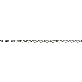 Figure 8 chain ANTIQUE SILVER