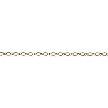 Figure 8 chain MATTE GOLD
