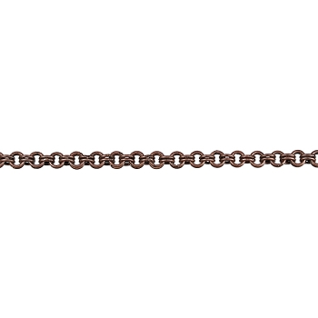 Double Link chain ANTIQUE COPPER