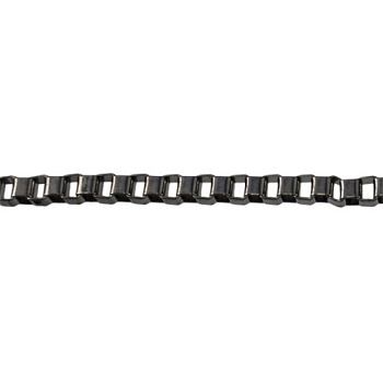 4mm BOX chain  GUNMETAL