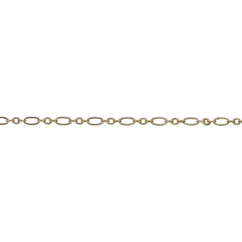 Small Etched Chain - Gold