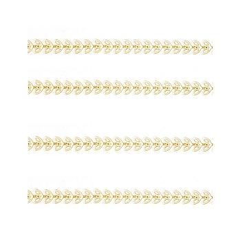 Butterfly Chain Matte Gold
