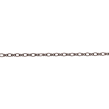 Figure 8 chain ANTIQUE COPPER