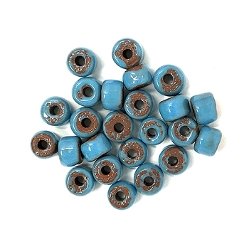 Clay River Porcelain Slider 5mm ROUND - Aqua Fresca