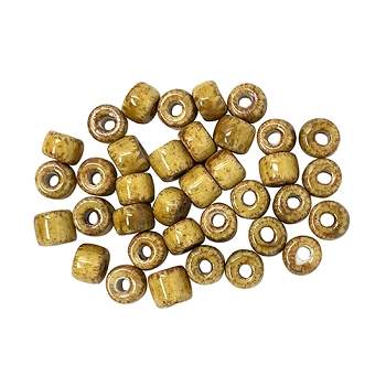 Clay River Porcelain Slider 5mm ROUND - Gold