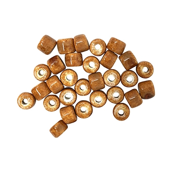 Clay River Porcelain Slider 5mm ROUND - Cinnamon