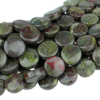 Dragon Blood Jasper 12mm Coin 8