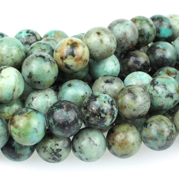 African Turquoise 10mm Round 8