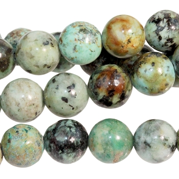 African Turquoise 8mm Round 8