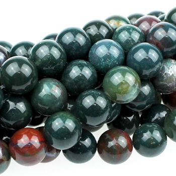 Bloodstone 10mm Round 8