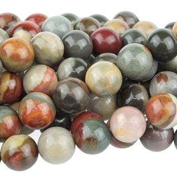 Polychrome Jasper 10mm  Round  8
