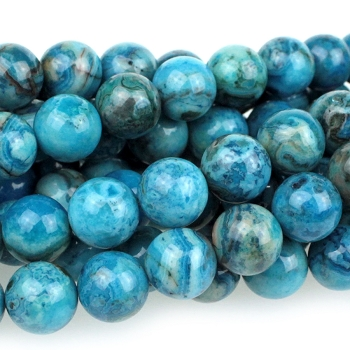 Blue Crazy Lace Agate 10mm Round 8