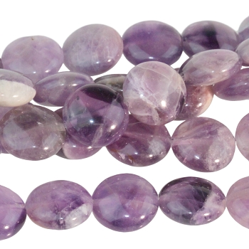 Dog Teeth Amethyst 12mm Coin 8